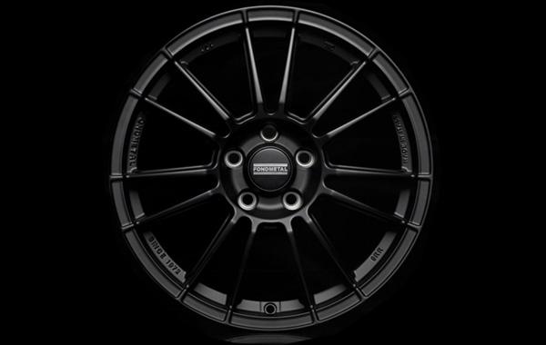 FONDMETAL 9RR NeroWheel 4本Setfor BMW F20/E82/E87/E88