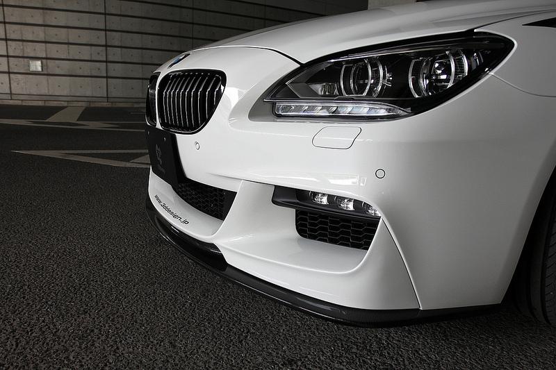 3D Designフロントリップスポイラー for BMW F06/F12/F13  M-Sport