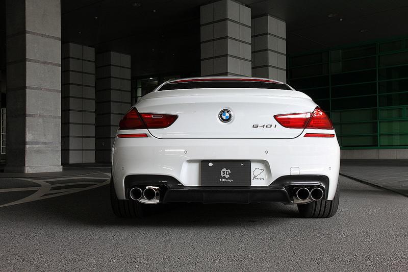 3D Designエギゾーストシステムfor BMW F06/F13 640i