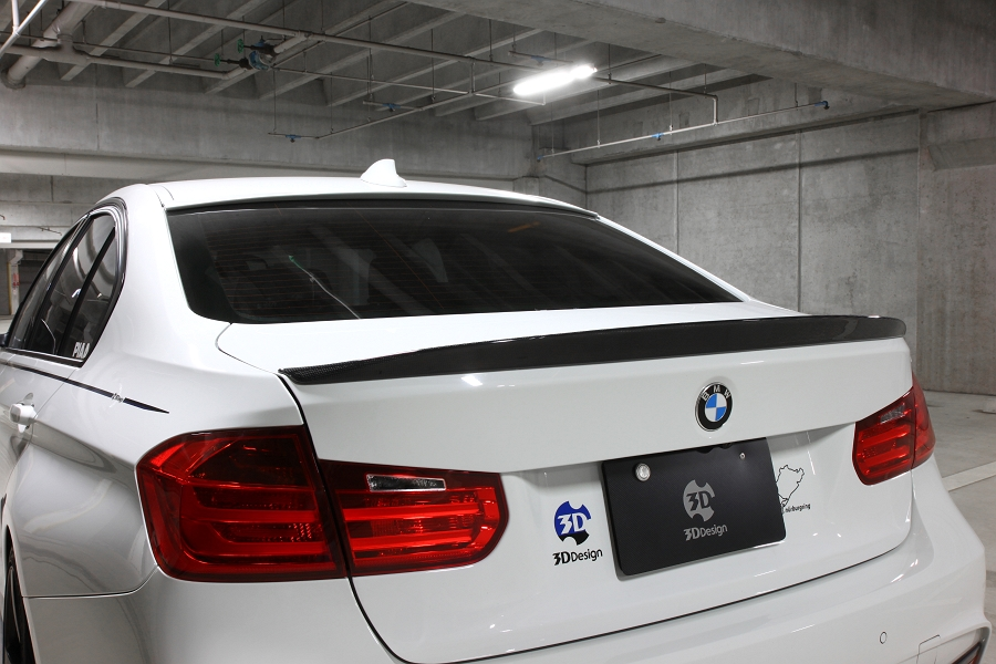 3D Designカーボントランクスポイラーfor BMW F30