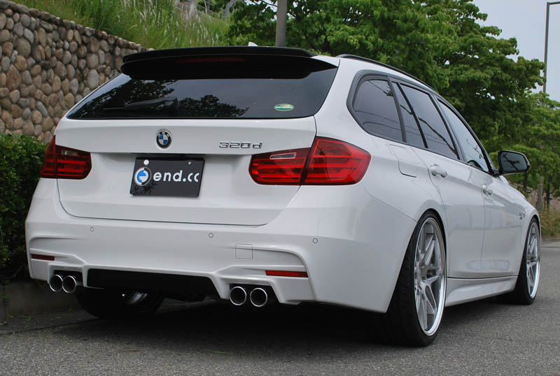 end.cc リアディフューザー BMW F30/F31 M-SPORT