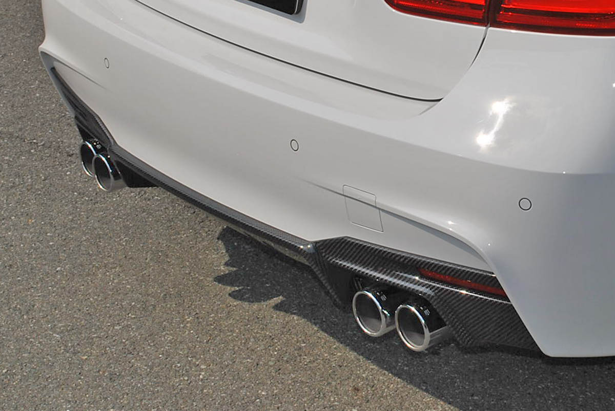 end.cc リアカーボンディフューザー BMW F30/F31 M-SPORT