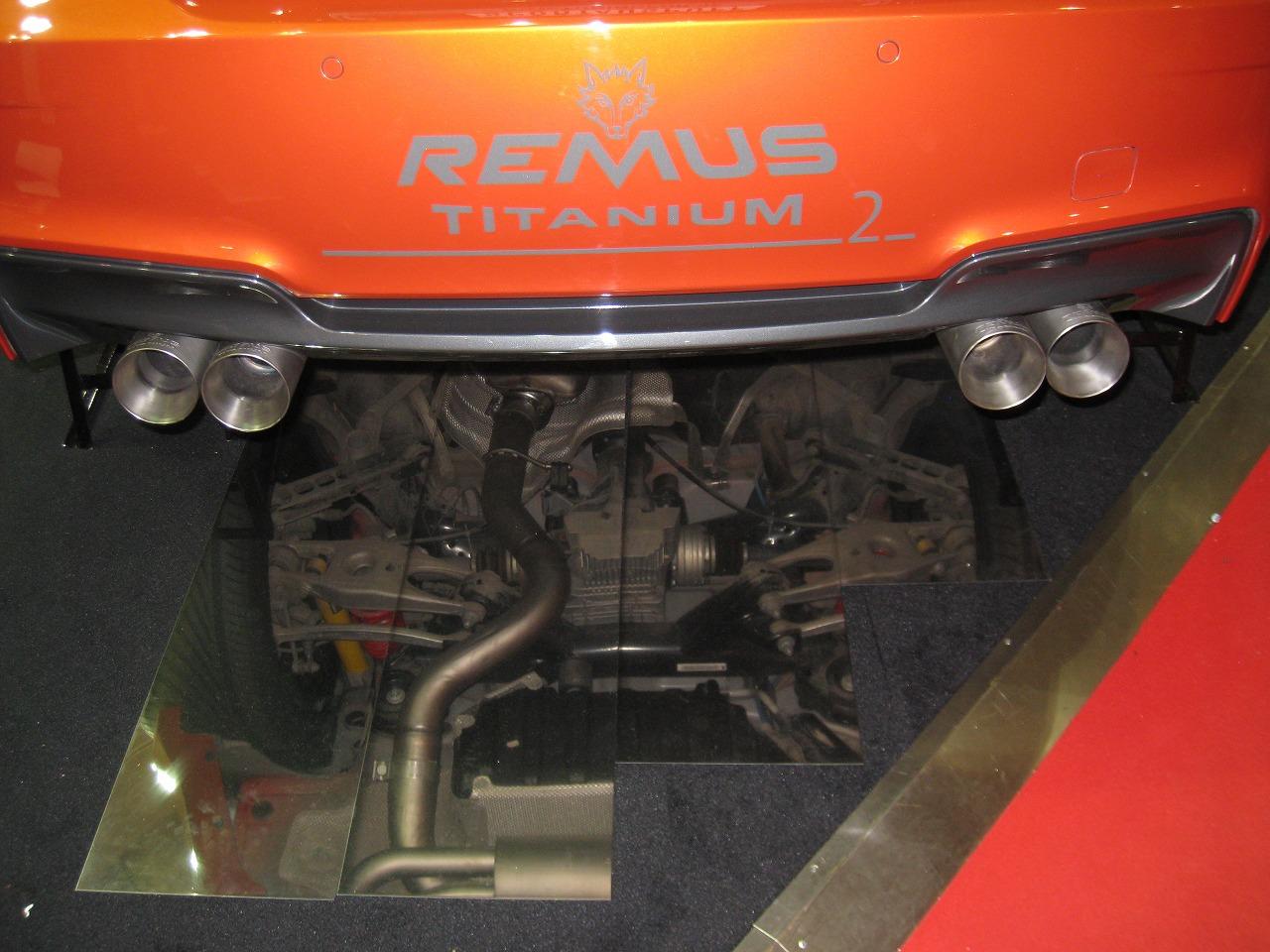REMUSマフラー E82/1Mcoupe TITANIUM