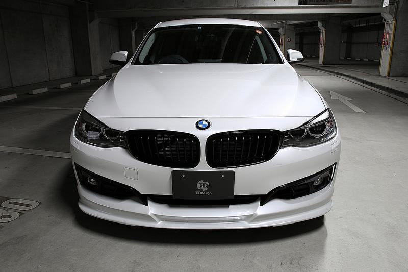 3D Designフロントリップスポイラー for BMW F34 SPORT