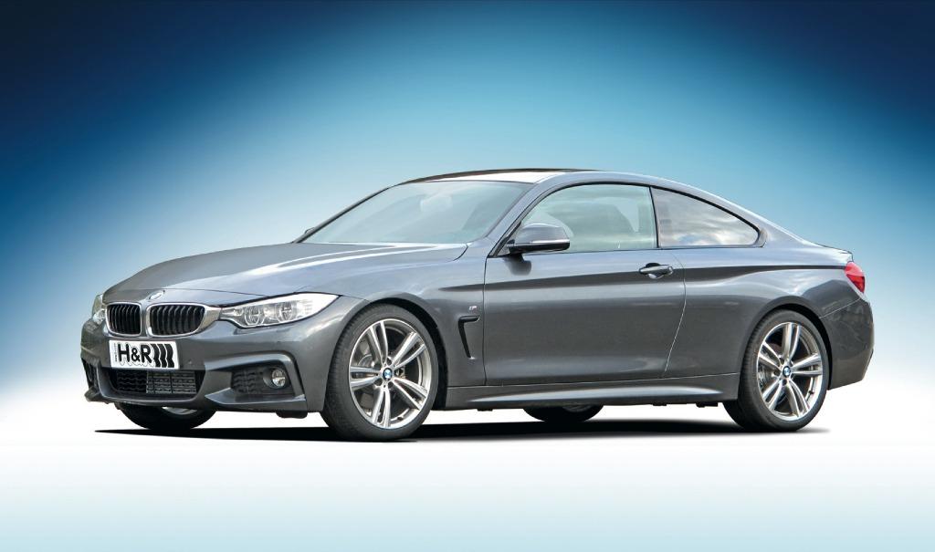 H&R ローダウンスプリング for BMW F33/435i  4シリーズ カブリオレロアバージョン