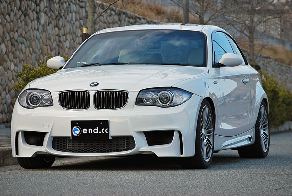 end.cc 1M Coupe-Line  フロントバンパー For E82 135i