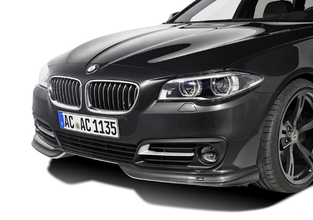 AC SCHNITZERフロントフリッパーFor BMW F10/F11 Lci M-Sportを除く