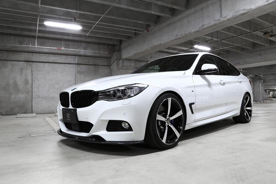 3D Designフロントリップスポイラー for BMW F34 M-SPORT