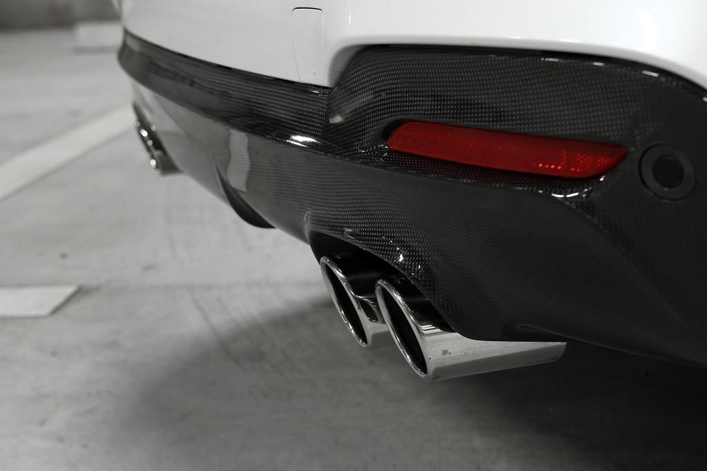 3D DesignカーボンリアディフューザーBMW F34 M-sport4テール