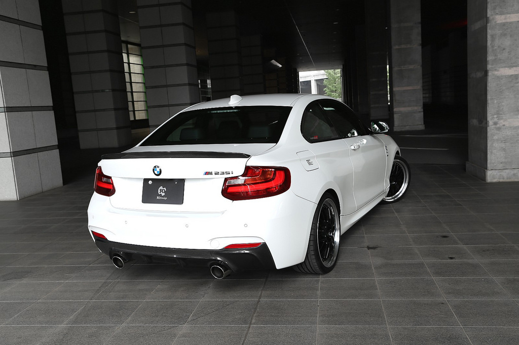 3D Designカーボントランクスポイラーfor BMW F22