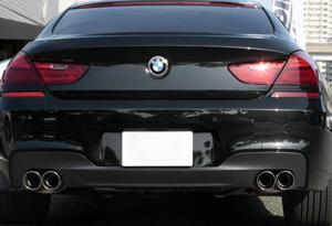 SuperSprint リアマフラー90W BMW F06 640i