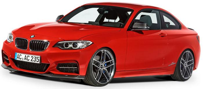 AC SCHNITZERカーボンフロントフリッパーFor BMW F22 2series Msport