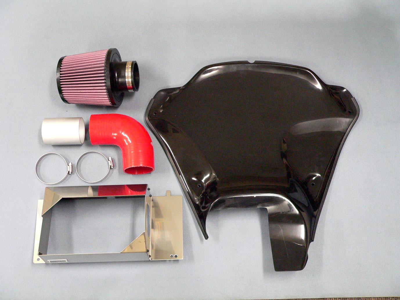 GruppeM(グループエム)インダクションボックス for MINI R55/R56/R57/R58/R59 COOPER S 及び JCW