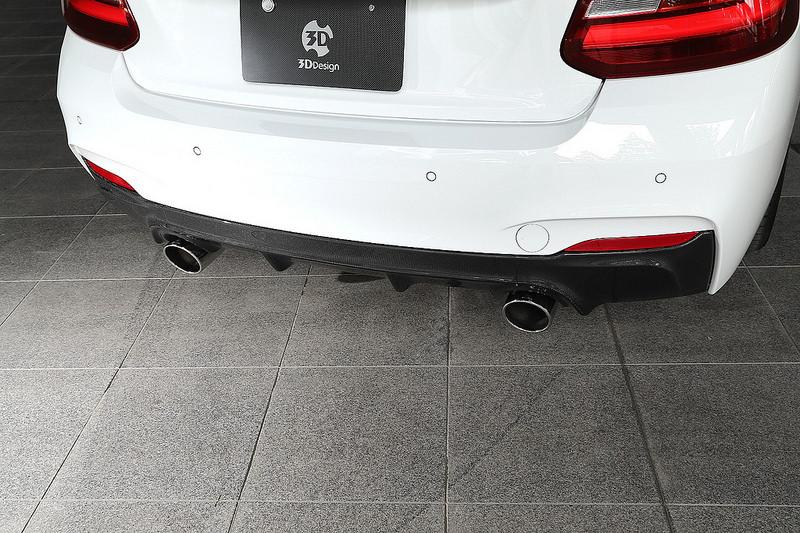 3D Designエギゾーストシステムfor BMW F22 220i