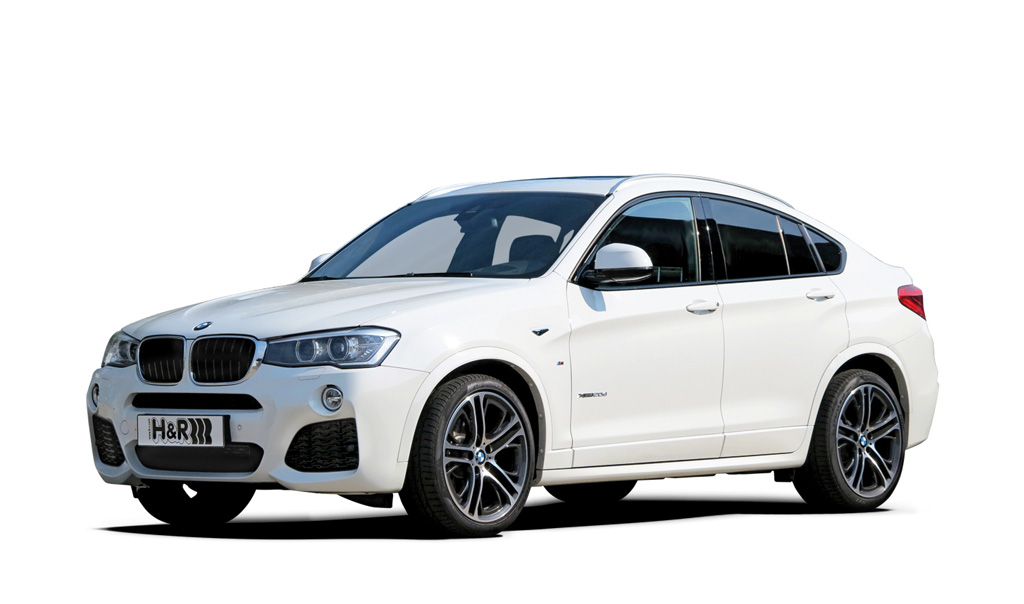 H&R製ローダウンスプリングfor BMW F26 X4