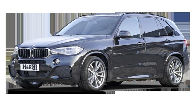 H&R製ローダウンスプリングfor BMW F15 X5リアエアサス車 リア調整ロッド付き