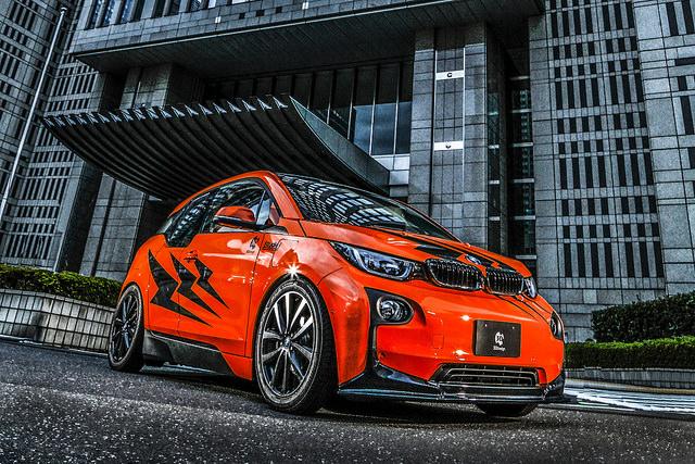 3D Designフロントリップスポイラー for BMW i3