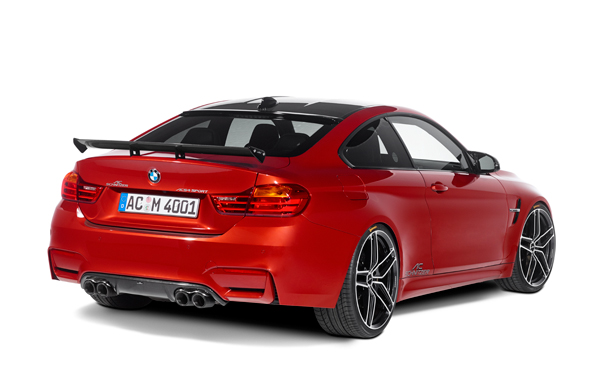 AC SCHNITZERカーボンリアディフューザーFor BMW F80/M3 F82/M4