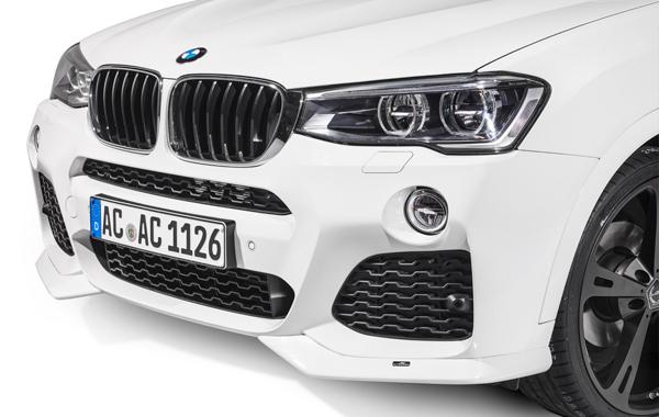 AC SCHNITZERフロントスポイラーFor BMW F26/X4 M-SPORT F25/X3 LCI 2014/4- M-SPORT