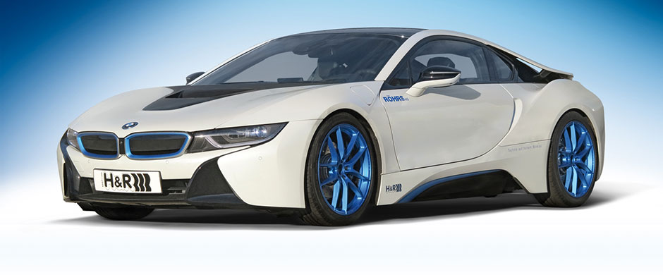 H&R ローダウンスプリング for BMW i8