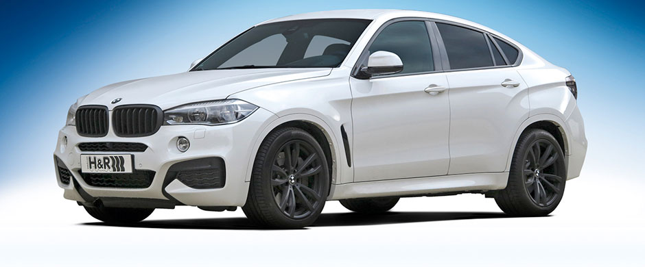 H&R製ローダウンスプリングfor BMW F16 X6