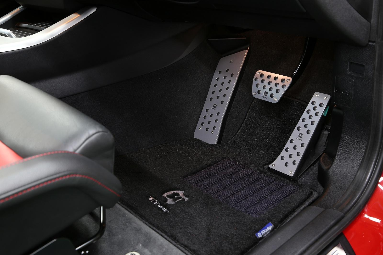 3D Design アルミフットレストfor BMW F25/F26系 RHD