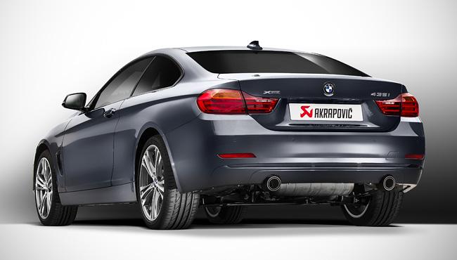AKRAPOVIC カーボンテールfor BMW F32 435i