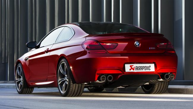 AKRAPOVIC チタンマフラー チタンンテール for BMW F12/F13 M6