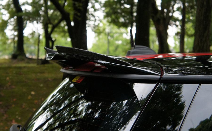 3D Designルーフスポイラーエクステンション for MINI F56 JCW ルーフスポイラー装着車
