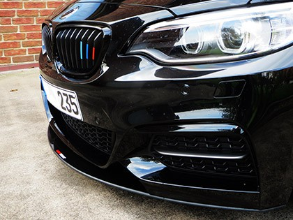 LightWeight BMW F22 M-Sport Front Lip Carbon