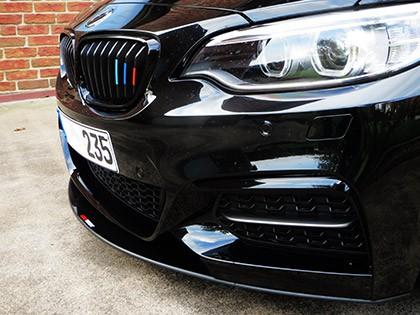 LightWeight BMW F22 M-Sport Front Lip Carbon