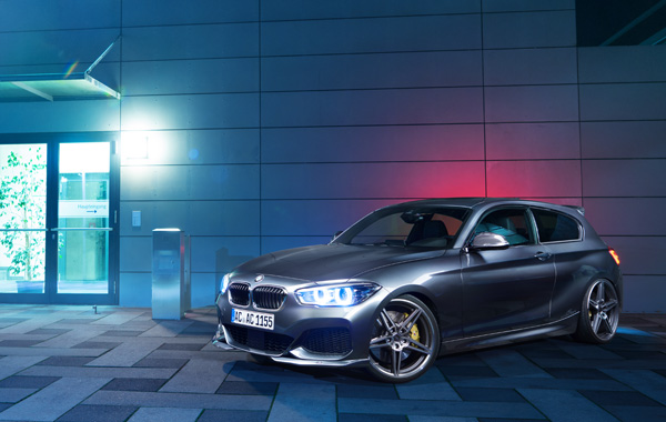 AC SCHNITZERフロントスポイラー For BMW F20 後期(3/'15-)M-Sport用
