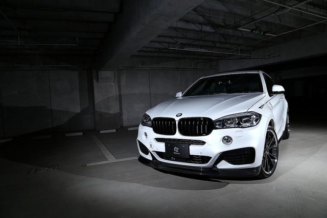 3D Designカーボンリップスポイラー for BMW F16 X6 M-Sport