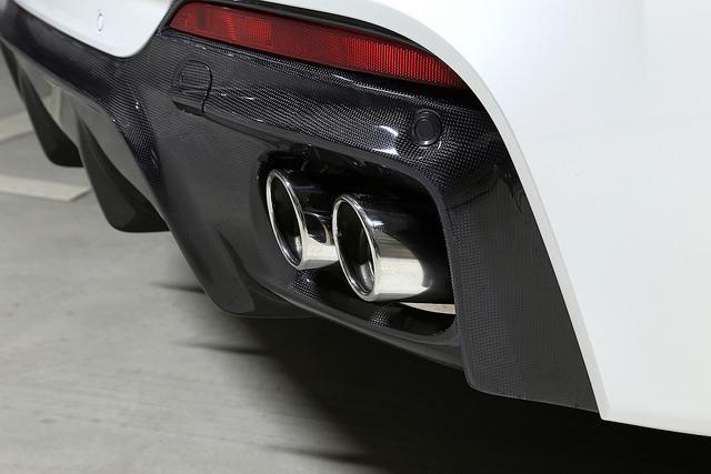宝马 F16 3D 设计排气系统 / 3.5i