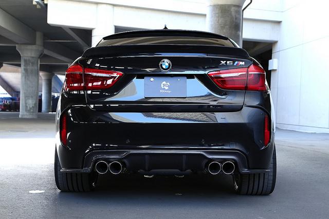 3D Designカーボンリアディフューザーデュアル4テールfor BMW F86 X6M