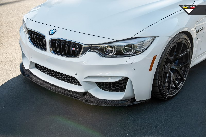 Vorsteiner GTS FRONT SPOILER CARBON For BMW F80 M3 / F82 M4