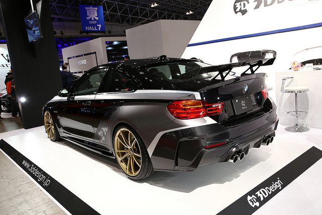 3D DesignレーシングリアウィングFor BMW F82