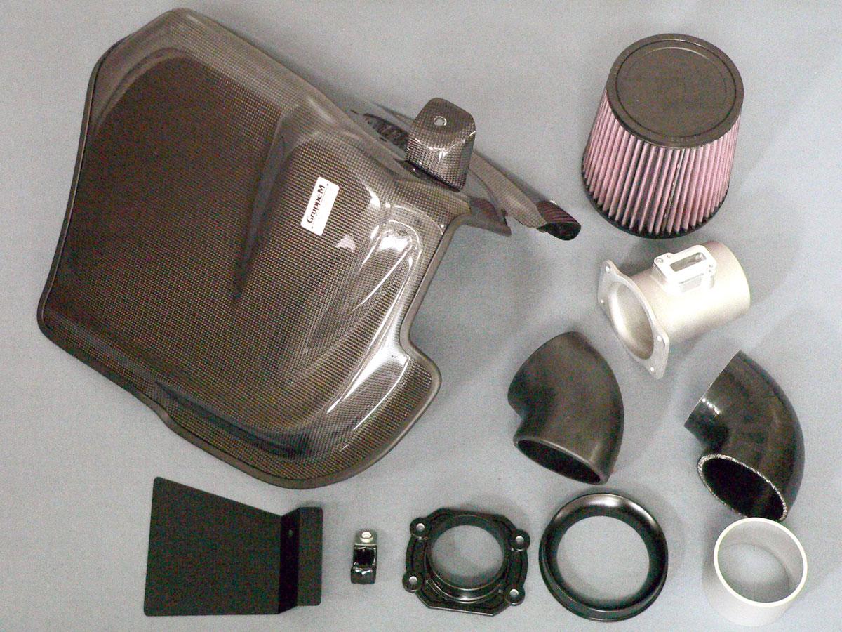GruppeM(グループエム)RAM AIR SYSTEM(ラムエアーシステム)BMW F30/F31 320i Lci B48B20Aエンジン車