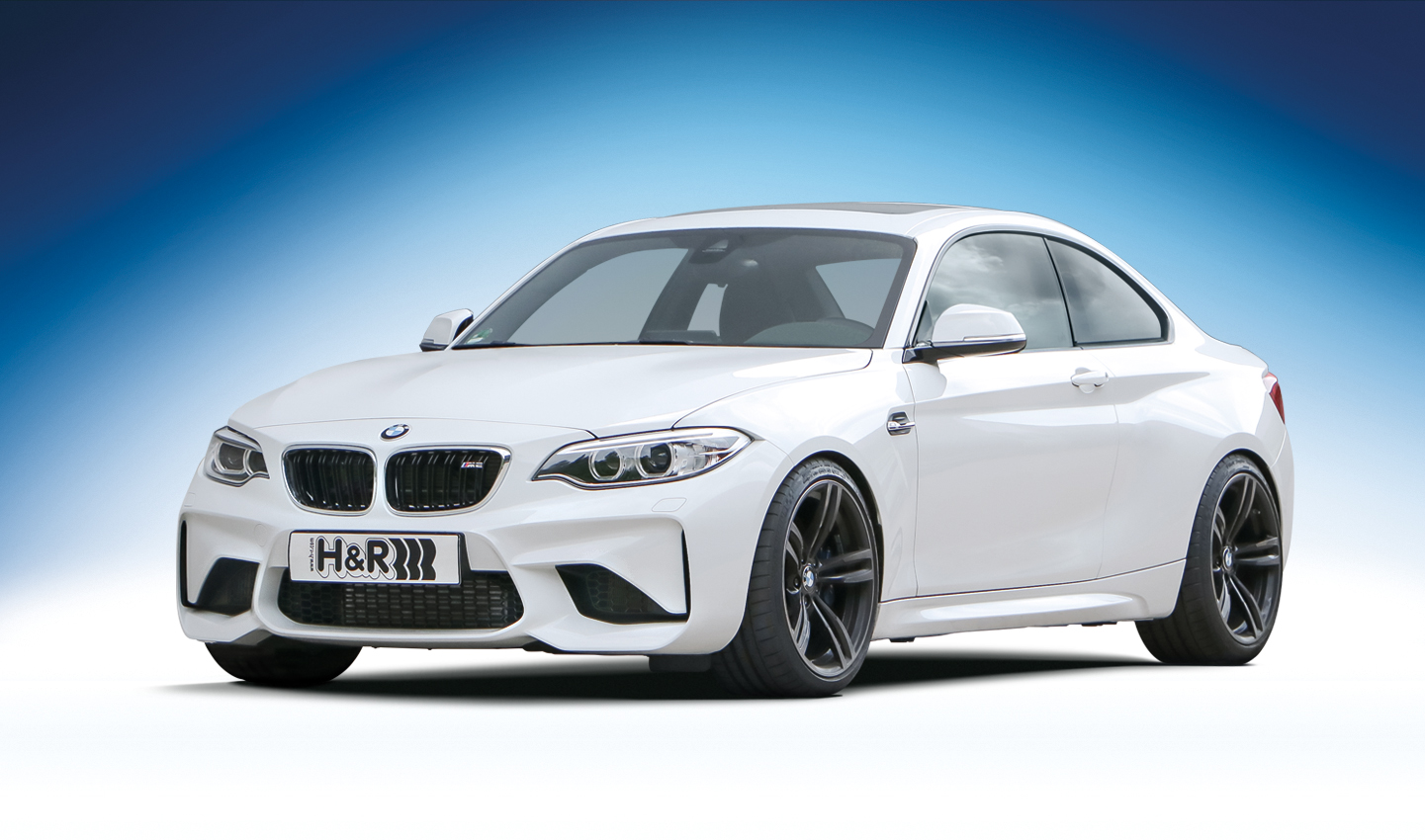 H&R ローダウンスプリング for BMW F87 M2