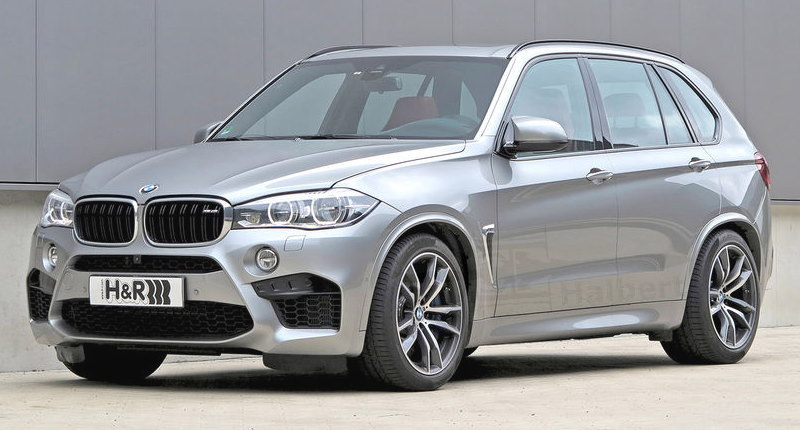 H&R製ローダウンスプリングfor BMW F85/X5M F36/X6M