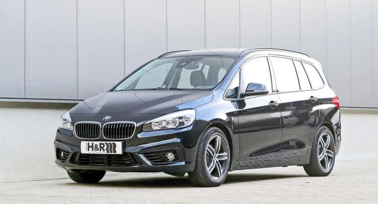 H&R製ローダウンスプリング for BMW F46 グランツアラー 2WDモデル *プラグインハイブリッド除く