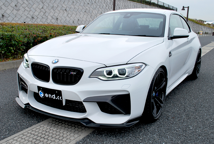 end.cc Reverence Line for BMW F87 M2 フロントダクトスプリッター