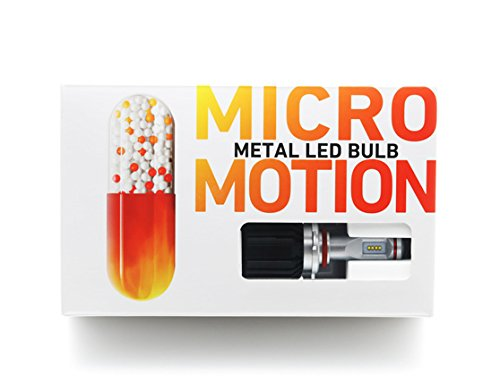 METAL LED BULB MICROMOTION H1