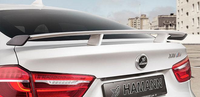 HAMANNリアウイング For BMW F16 F86 X6