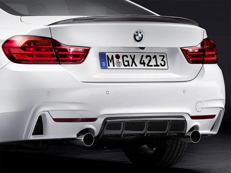 BMW M Performanceトランクスポイラーfor BMW F36