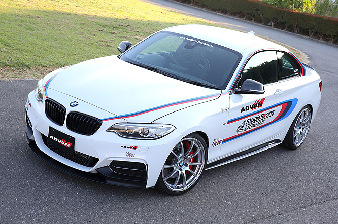 BMW M Performance carbon front splitter for F22 M-SPORT