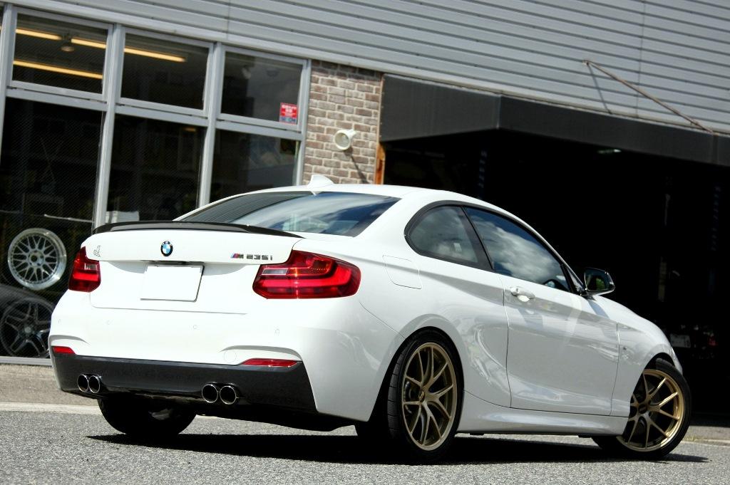 BMW M Performanceトランクスポイラーfor BMW F22