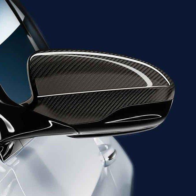 BMW M Performanceカーボンミラーカバー F10/M5