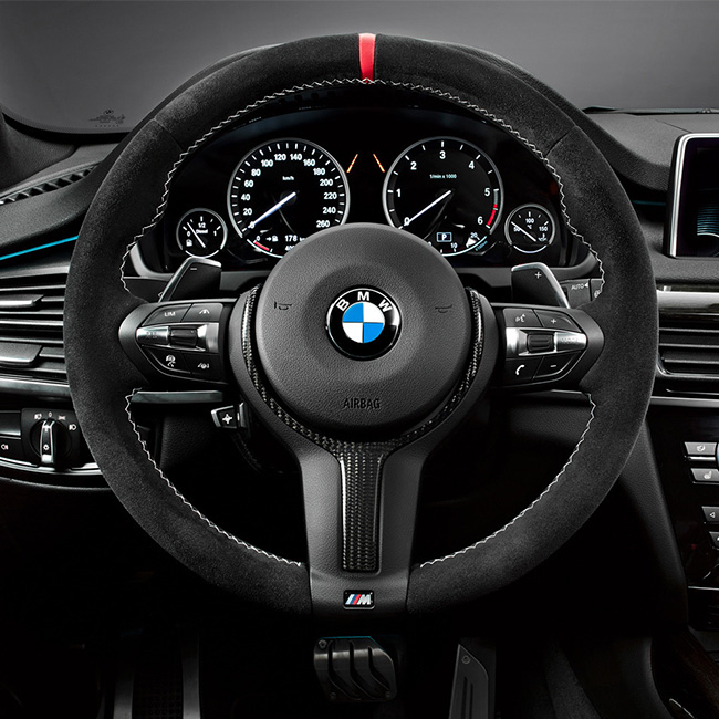 BMW M Performanceステアリング For BMW F15/X5 F16 /X6