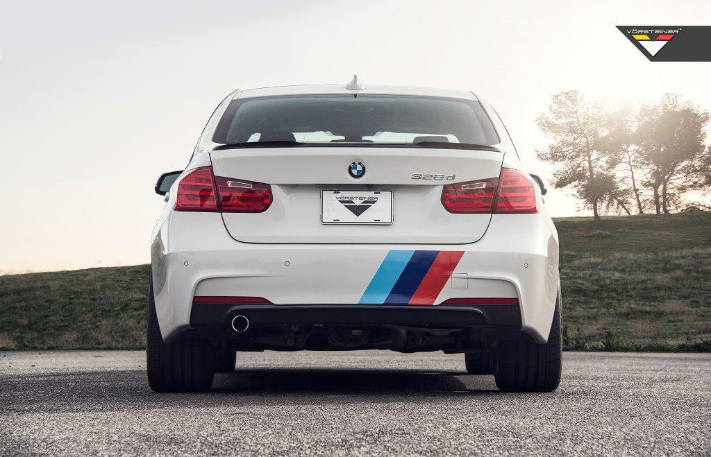 Vorsteiner Aero Deck Lid Spoiler Carbon For BMW F30